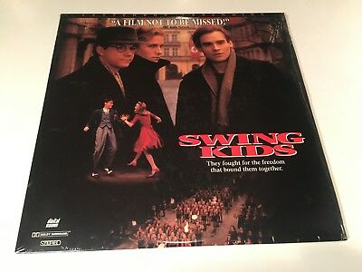 Swing Kids Letterboxed Laserdisc 1993 WWII Music Drama Christian Bale 90's