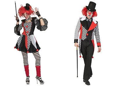 Harlekin Kostüm Damen Herren Oberteil Frack Clown Karneval Fasching - Clown Frack Kostüm
