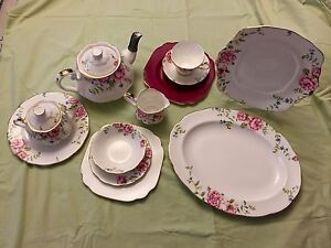 Royal Albert 'ENGLISH ROSE' tea set 43 pieces Mill Park Whittlesea Area Preview