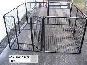 BRAND NEW Pet Dog Exercise Encl Fence Play Pen Run-80cmx8 PANEL Kingston Logan Area Preview