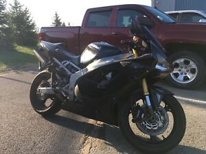 2003 zx6r no trades unless it's a street bike