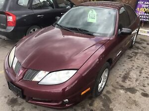 2004 PONTIAC SUNFIRE SL - NICE ECONOMY CAR ONLY 2995.00