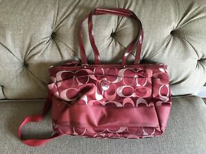 Large COACH baby tote/diaper bag - Authentic
