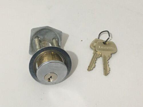 SARGENT Assa Abloy Rim Cylinder Lock RG Keyway w/ 2 Keys Locksmith Locksport
