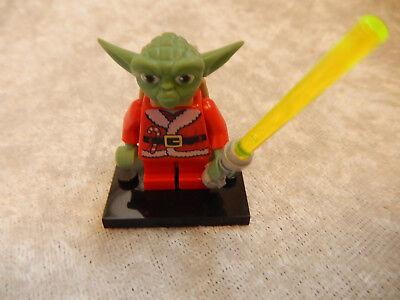 Lego Meister Yoda Mini Figur Weihnachtsmann Kostüm Star - Meister Yoda Kostüm