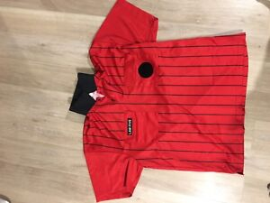 Soccer referee shirt - Law Five - size L - red