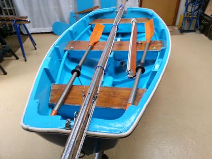 "Sailing dinghy classic British ""Seagull"" 1950's"