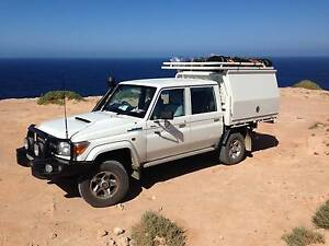 Dual Cab Toyota LandCruiser with Gooseneck Hitch Ourimbah Wyong Area Preview