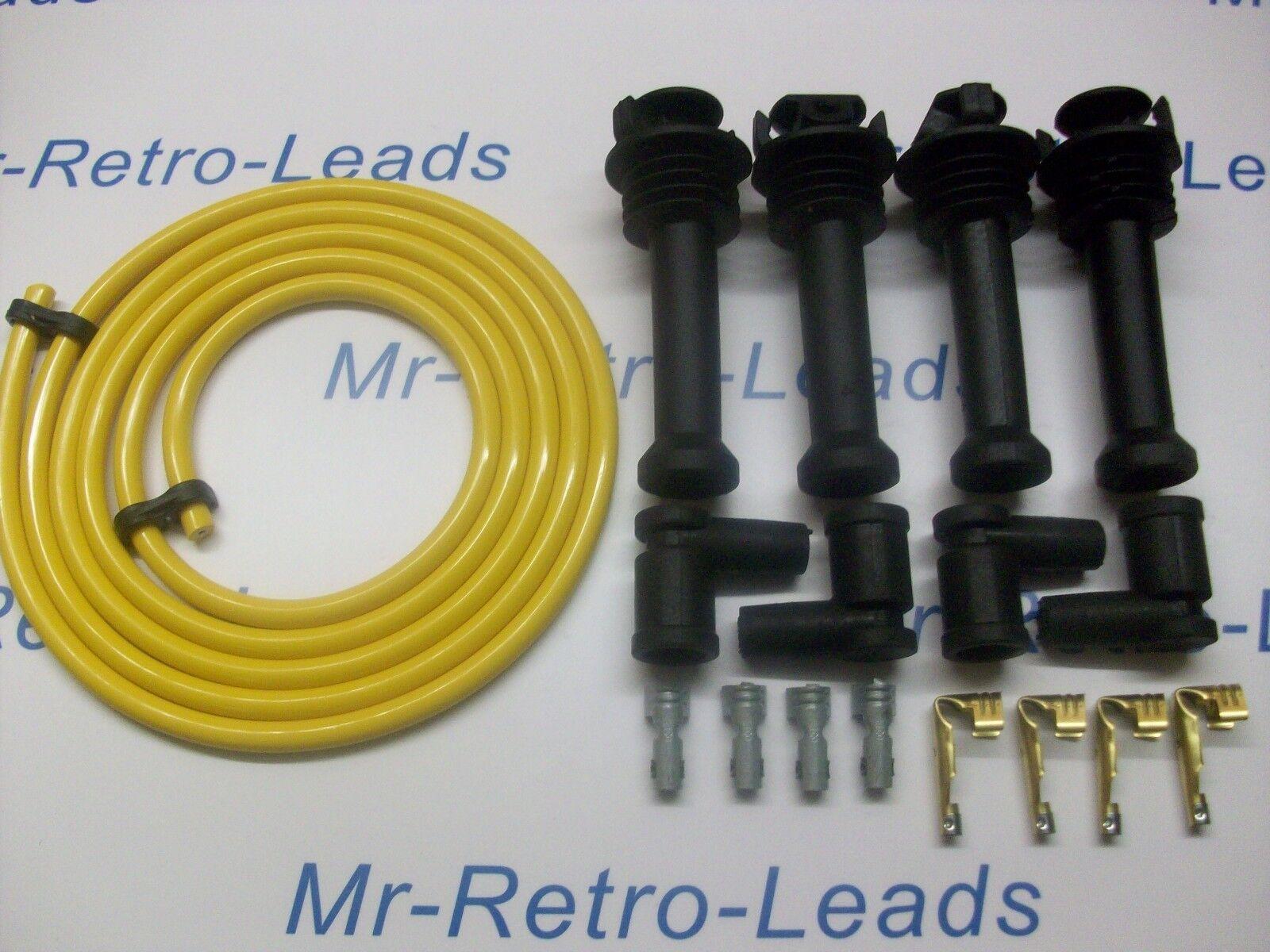 Ht allumage conduit /& ngk spark plug set Mazda MX5 Mk2 1.8 1998-2000
