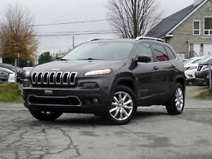 2016 Jeep Cherokee LIMITED 4X4 + SELECT-TERRAIN + CUIR NAPP