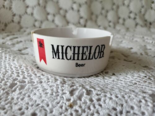 Michelob Beer Ashtray American Ornapress White Advertising Tobacco