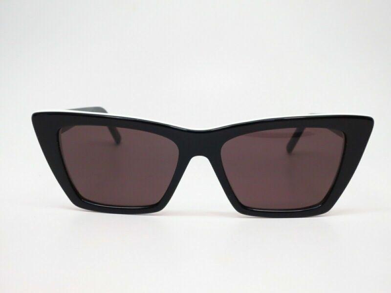 Saint Laurent  Black/White With Grey women Sunglasses (SL 276 Mica-006)