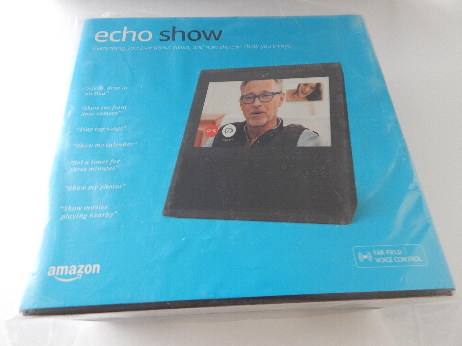 Amazon Echo Show Alexa Black BRAND NEW
