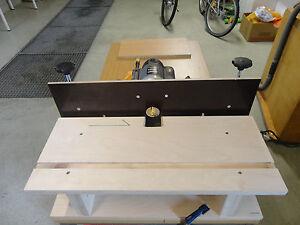 horizontaler Frästisch für Oberfräse Mobiler Oberfräsentisch Tischfräse Fräse