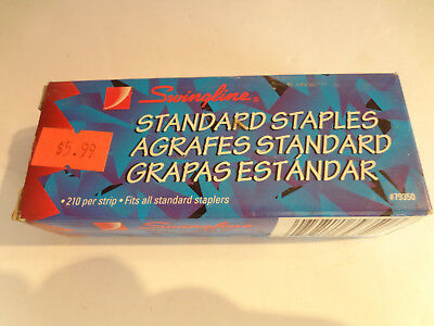 Swingline Staples Standard 14 Length 210strip 5000box 1 Box 79350