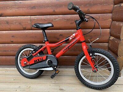 "Ridgeback MX14 Red Childs Bike 14"" Inch"