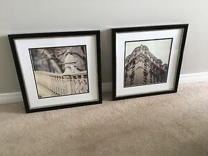 HOMESENSE MODERN WALL ART x2-LIKE BRAND NEW!