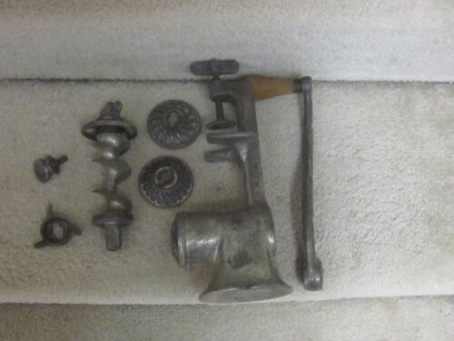 LF&C Universal #3 vintage meat grinder- clean,cheap,heavy-duty,USA