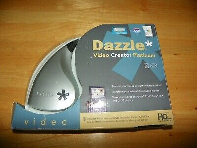 Pinnacle Dazzle Video Creator Platinum Transfer your videos from tape to DVD