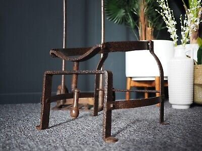 VTG Retro Iron Barrel Cradle Decorative Piece Fully Working UK DELIVERY AVAIL