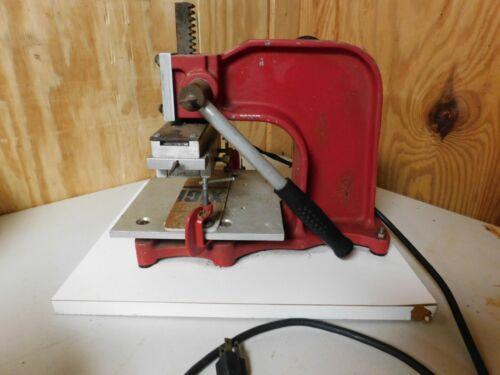 Gold Magic Robotemp model 315 hot foil stamping machine