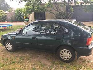 1997 Toyota Corolla Hatchback Ballarat Central Ballarat City Preview