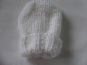 Hand Knitted -  Baby Mittens - Mitts - 0-3 Month - Various Colours