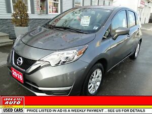 2018 Nissan Versa Note you're approved $62.84 a week tax inc. SV