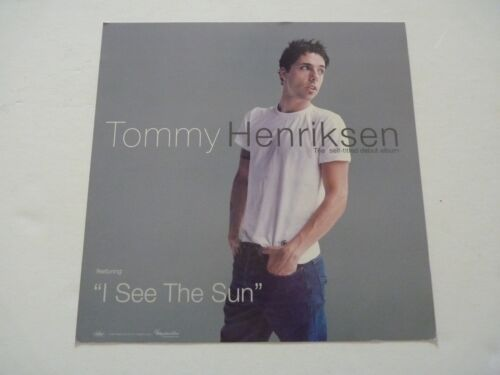 Tommy Henriksen Promo LP Record Photo Flat 12x12 Poster #2
