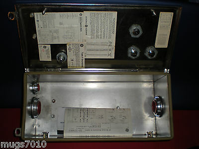 General Electric Type 4x Enclosure Stainless