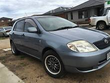 2004 TOYOTA COROLLA ASCENT 5 SPEED MANUAL HATCH BACK Point Cook Wyndham Area Preview