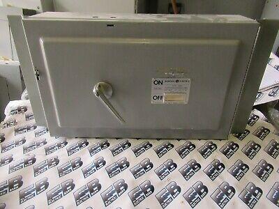 Ge Thfp325 400 Amp 240 Volt 3p Type Qmr Switchboard Switch -warranty