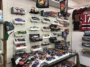 NASCAR Buy sell trade at the Collins Bay collectable market