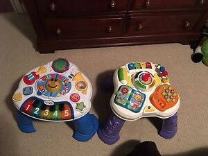2 Vtech Sit to Stand Learn and Discover Tables