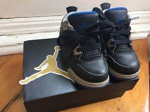 Nike Jordan 4 Retro BT Size 8c MINT Adidas 8K