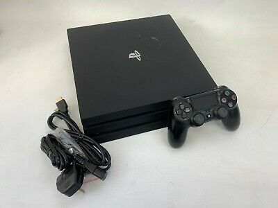 Sony PlayStation 4 Pro 1TB Black Console, 1 Contoller #9069600