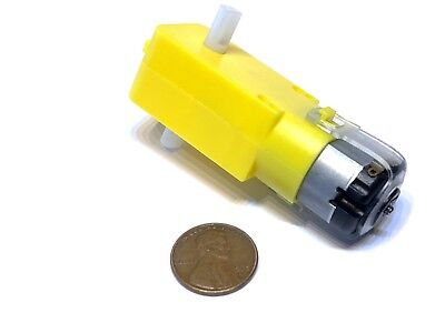 1 Piece Rc Mini 3v 6v Dc 160ma 100rpm Dual Shaft Car Toy Reduced Gear Motor C13