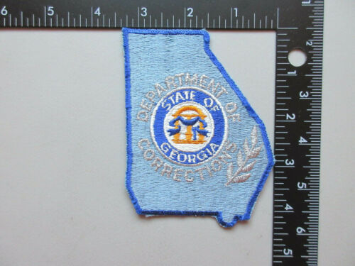 STATE OF GEORGIA DEPARTMENT OF CORRECTIONS COLLECTIBLE PATCH