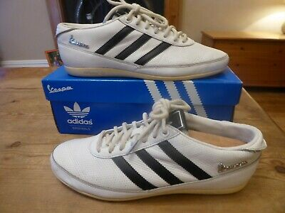 mens vintage ADIDAS vespa - size uk 7 ( 2009 ) inc box good condition