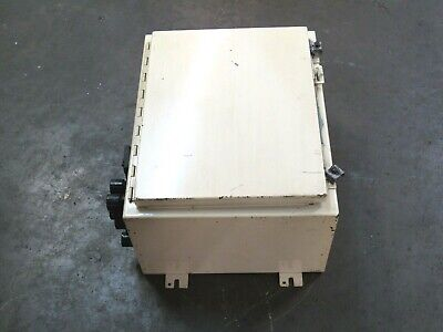 Hoffman Hinged Wall Mount Electrical Enclosure Panel Box A201610lp 20x16x10