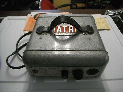 Atr Power Dc Ac Inverter Model Rme. With Original Documents