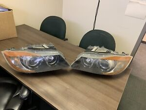 Both left and right head light 2007 bmw 3-series