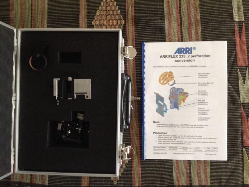 ARRI ARRIFLEX 235 35MM MOTION PICTURE CAMERA 2-PERF TECHNISCOPE KIT CASE SCARCE!