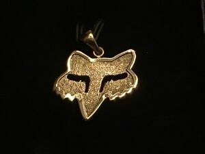 New Fox pendant 14k Gold customer made