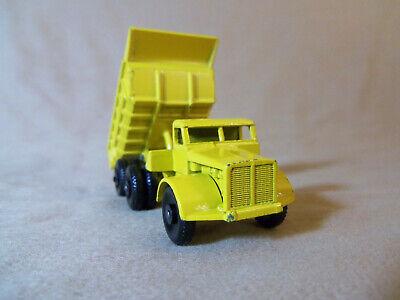 "Vintage Lesney ""MATCHBOX"" Series No.6-B Euclid 10-Wheel Quarry Dump Truck,Yellow"