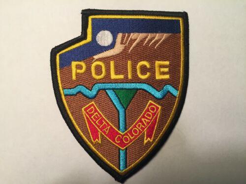 Delta COLORADO Police Patch
