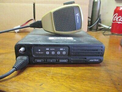 Vertex Vx-3000 Uhf Mobile Radio Working Radio Working