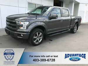 2015 Ford F-150 Lariat Trailer Tow / Brake - Reverse Camera