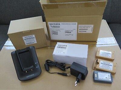 Spectralink SPL 8400 DUAL CHARGER KIT Herst. Nr. 2200-37300-102 inkl. 2 Std Akku Spectralink Dual Charger