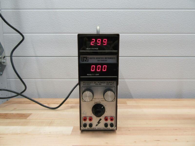 Hoeffer Scientific Instruments PS500XT DC Power Supply